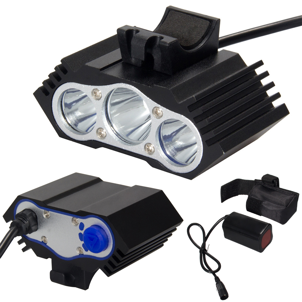 CREE XM-L T6 LED Front Bicycle Bike Head Bicycle Headlights Headlight Practical